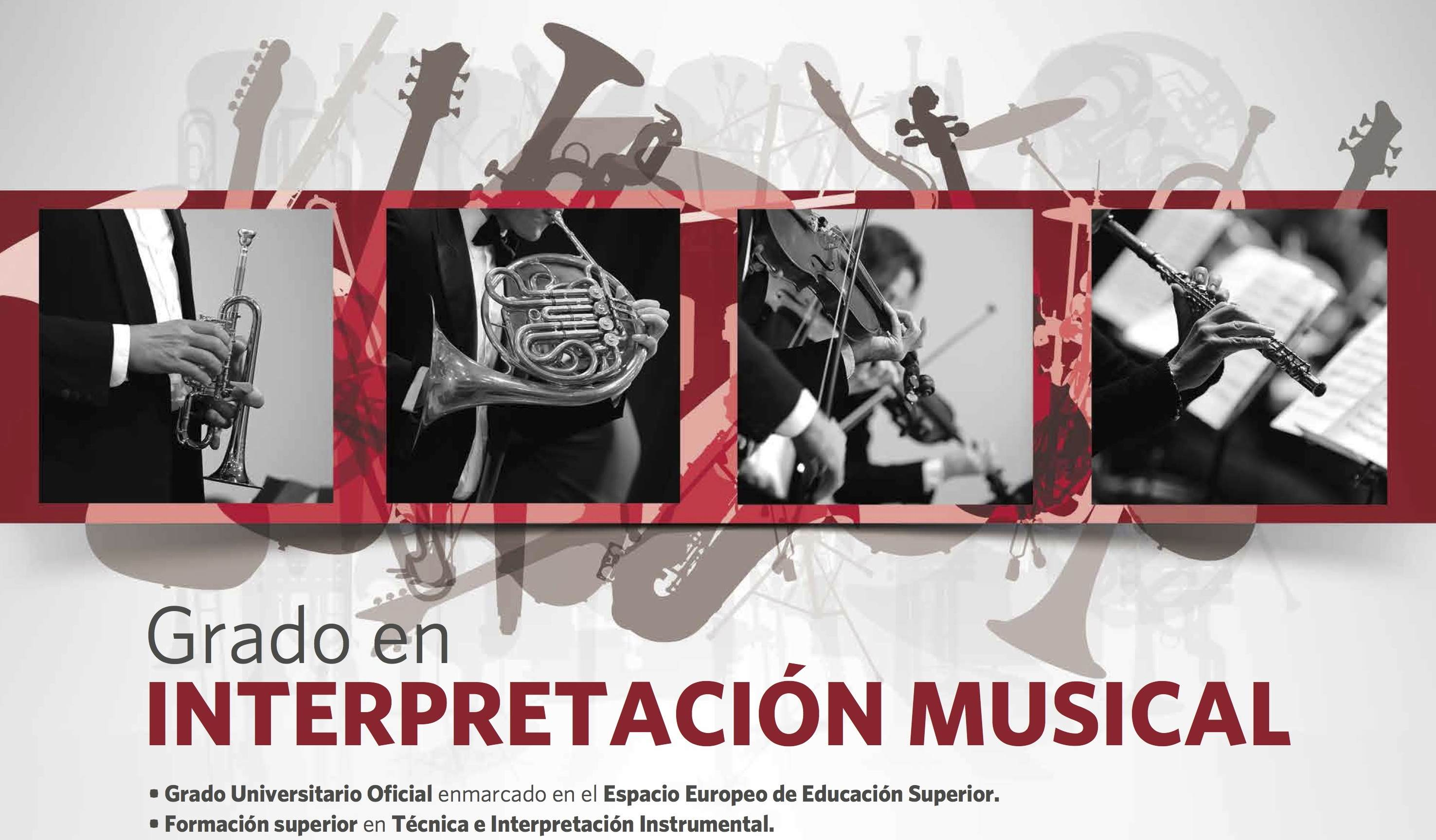 Grado en Interpretación Musical