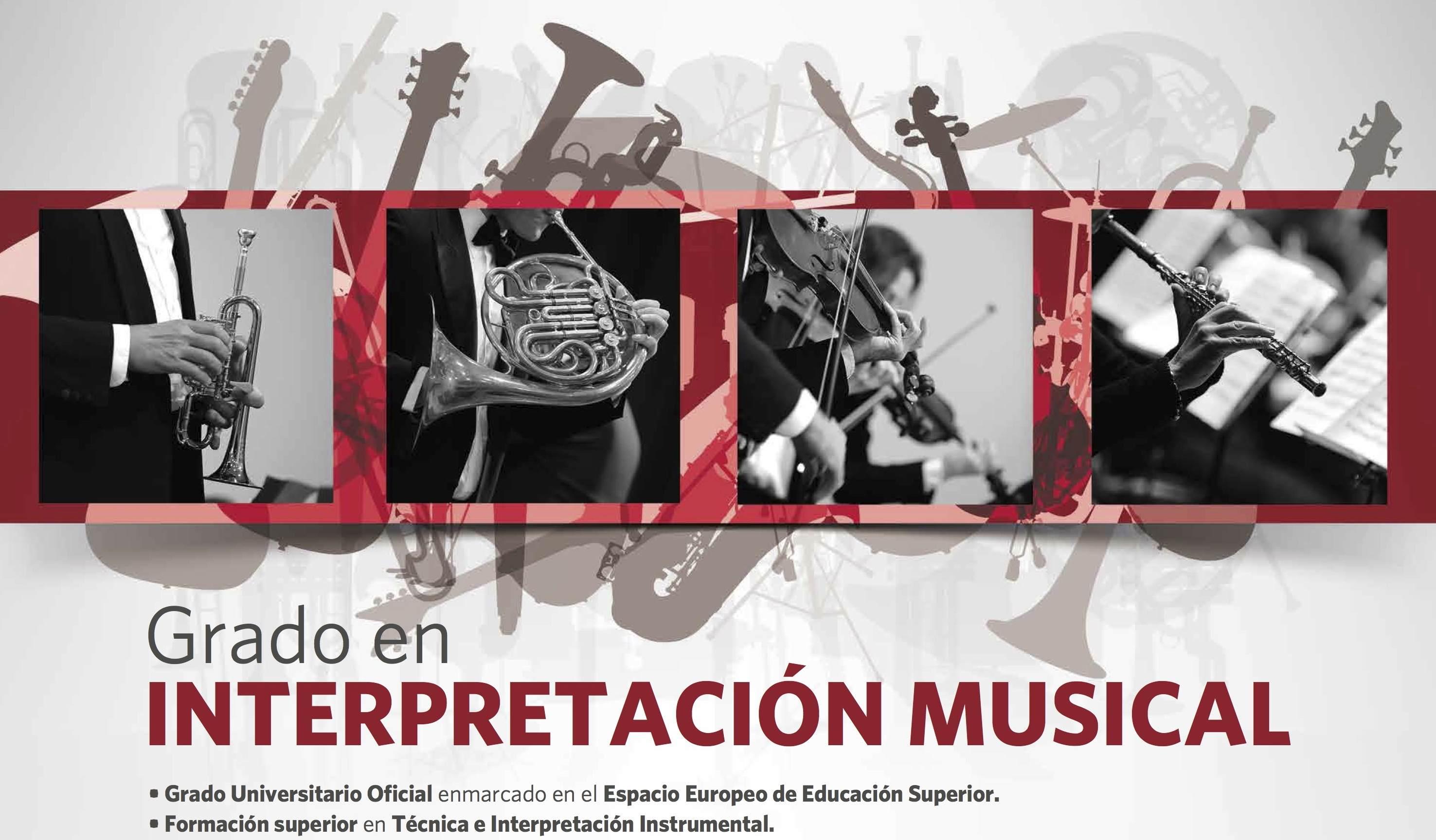 Grado en Interpretación Musical