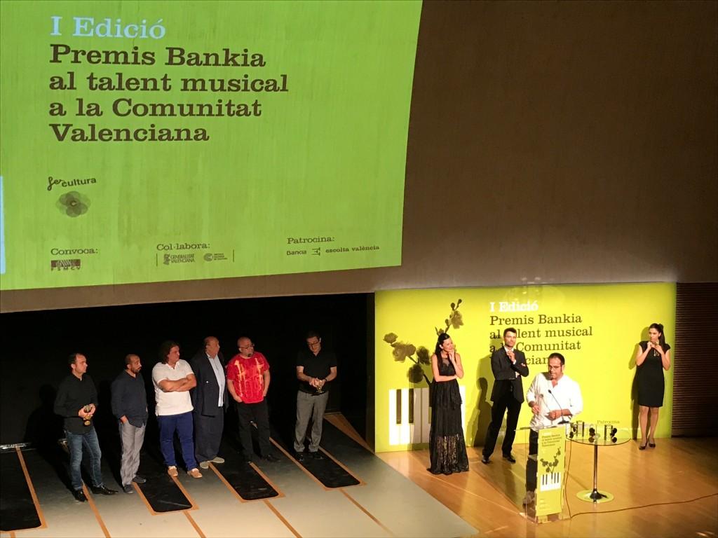 Premis Bankia al Talent Musical